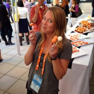 While branded cheesecake pops will always be appreciated by attendees, it's important to think about how your collateral is going to spur lead generation and customer activation.